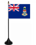 Cayman Islands Desk / Table Flag with plastic stand and base.
